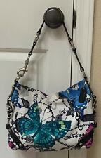 Coach Limited Edition Carly Butterfly Purse Bag F15252