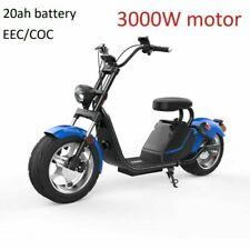 Scooter électrique Citycoco 3KW 66v homologué