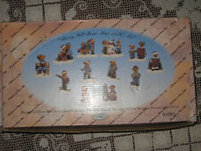 Christmas On Berry Hill Bears Mini Collectible 12pc Set Collectible Bible Verse