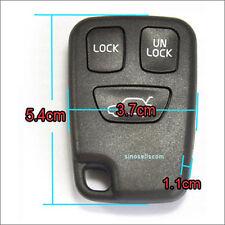 3 Button Remote Key Case VOLVO C70 S70 S80 S90 V40 V70 V90 850 Keyless Entry Fob