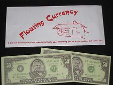 Floating Currency Magic Trick - Close-Up, Street, Use Any Dollar The Bill Floats