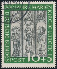 BUND 1951, MiNr. 139 II, Plattenfehler, gestempelt, gepr. Schlegel, Mi. -,-