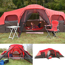10 Person Family Tent 3 Rooms 4 Season Large Cabin Camping Hiking Travel Outdoor