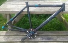Black bike frame 19 inch Mens 49cm Hyde Cube ULS Trekking lightweight aluminium!