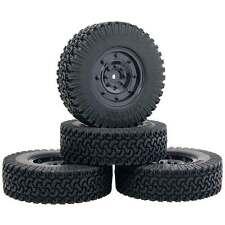 1.9' Climbing Rubber Tires Wheels 56-134 4P For RC 1/10 D90 SCX10 Rock Crawler