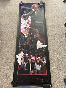Michael Jordan 1993 Chicago Bulls  Air Jordan large Door Costacos Poster BL1
