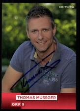 Thomas mussger ORF autografiada mapa original firmado # bc 52420