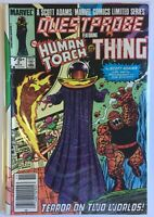Questprobe featuring Human Torch and Thing #3 (Nov 1985, Marvel)