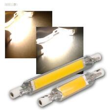 R7s LED-Leuchtmittel 78/118mm 4/7W 230V Stab-Birne Halogenstab Ersatz für Fluter