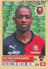 422 GELSON FERNANDEZ SUISSE STADE RENNAIS.FC STICKER FOOTBALL 2015 PANINI ~