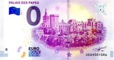 84 AVIGNON Palais des Papes 3, 2018, Billet 0 € Souvenir