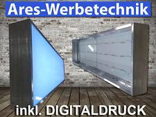 Leuchtkasten 1-seitig 300cm x 50cm ▄ LED ▄   Lichtwerbung   inkl.Digitaldruck