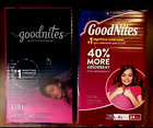 x2 GOODNITES Girls Bedtime NightTime Underwear Size L/XL 24 Count ea (PACK OF 2)