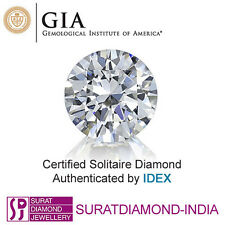 GIA Certified 0.80 Carat F SI1 Round Cut Natural Loose Diamond 119056189