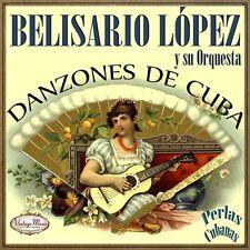 BELISARIO LOPEZ Y SU ORQUESTA CD Vintage Perlas Cubanas #198 / Danzones De Cuba