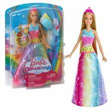 Barbie Dreamtopia | Mattel FRB12 | Magische Regenbogen Haarspiel Prinzessin