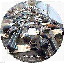 2400 Gun Manuals Gunsmith Rifle Carbine Pistol Revolver Shotgun Firearm on DVD