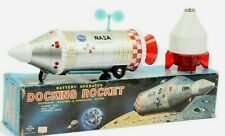 DAYIA * BATTERY OPERATED DOCKING ROCKET * NASA * SPACE TOY * OVP