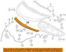Scion TOYOTA OEM 12-15 iQ Hood-Molding Trim 7577274011