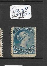 CANADA (P0909B) LARGE QUEEN 12 1/2C SC 28B    MNG