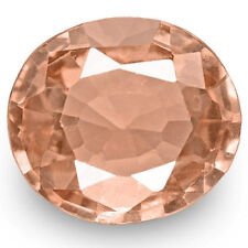 0.79-Carat IGI-Certified Unheated Eye-Clean Pinkish Orange Padparadscha Sapphire