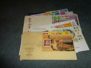 HONG KONG FDC COLLECTION, ALL W/CACHET