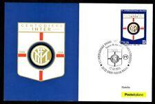 Italy 2018: 110 ° inter-Postcard Official Poste Italiane