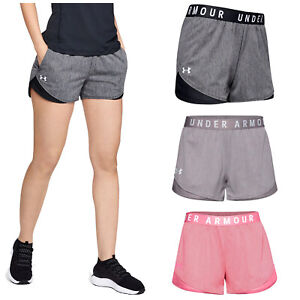 2021 Under Armour Ladies Play Up 3.0 Twist Shorts Gym Running Training Fitness