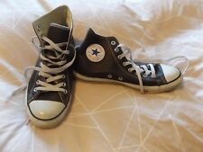 Converse Brown Leather Boots - Size 8