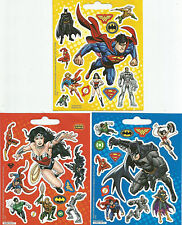 Justice League Mini Scrapbook Sticker Sheets