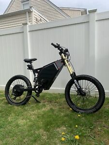 100+ Miles Per Charge!! Stealth Bomber Electric 48V3000W ebike bicycle 35mph Pas