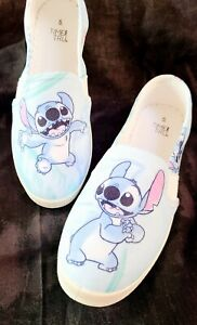 Lilo and Stitch Inspired Shoes Slip On Women's Sizes