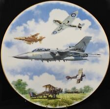 "Royal Doulton Royal Airforce 75th Anniversary LE 10"" Collectors Plate"