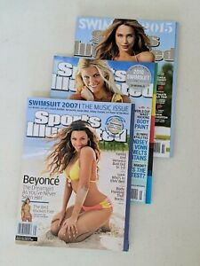Sports Illustrated Swimsuit single issues, Like New! (2007-2015)