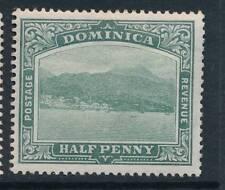 DOMINICA, 1903 ½d wmk Crown CC fine light MM, SG27, cat £5