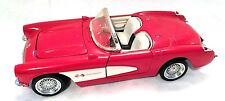 Sunnyside 1957 Corvette Roadster red and White Css7708 1/24 Scale With Box