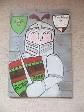 BN Boys A4 Knight Design Scrap  /  Art Book / Note Book