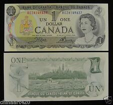Canada Banknote One Dollar 1973 UNC, Signature #1