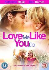 Love Me Like You Do Katherine Heigl, Clea DuVall, Ben Barnes NEW UK R2 DVD
