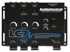New listing AudioControl Lc7i 6 Channel Active Line Out Hi/Lo Converter+Bass Processor Dsp