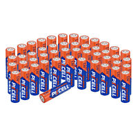 4~48PCS PKCELL AA 1.5V Alkaline Batteries EN91/MN1500/LR6/AM3 Single Use Battery