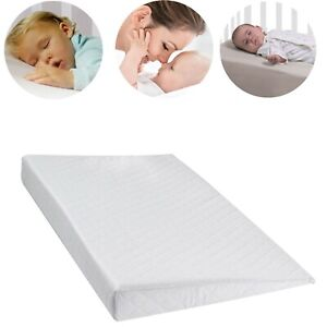 SQUARE BABY WEDGE PILLOW ANTI REFLUX COLIC CUSHION FOR PRAM CRIB COT BED FLAT