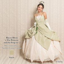 Disney Princess Tiana  Cosplay dress for ladies  Japan secret honey