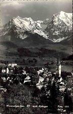 Windischgarsten Oberösterreich s/w AK ~1950/60 gelaufen Totale mit dem Pyhrgas