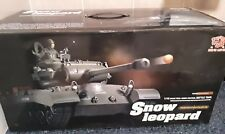 Heng Long Snow Leopard Real Radio Control Battle Tank Scale 1:16