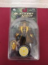 Sinestro Corps Member Scarecrow Blackest Night series 8 Action figure DC DIRECT