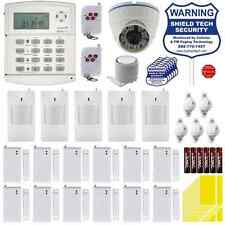 WIRELESS HOME SECURITY SYSTEM w IP INTERNET ETHERNET SMART CAMERA HOUSE ALARM
