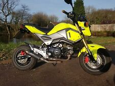 Honda MSX125 Grom Immaculate 2017 Latest ABS Model Sports Exhaust Bars & Mirrors