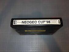 Cartouche Neo Geo MVS US Borne Arcade Jamma Neo Geo Cup 98 HS Not Working