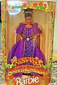 1997 Barbie Filipina Santacruzan Reyna Fe Queen of Faith Barbie 9905 NRFB